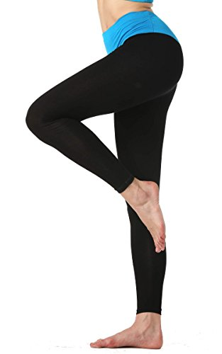 AVEVOG-Damen-Womens-Sport-Yoga-Running-Pants-Training-Hose-Lang-Hohe-Taille-Hosen-Leggings-Fitness-0-1