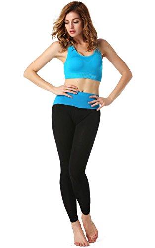 AVEVOG-Damen-Womens-Sport-Yoga-Running-Pants-Training-Hose-Lang-Hohe-Taille-Hosen-Leggings-Fitness-0-2