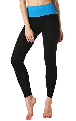 AVEVOG-Damen-Womens-Sport-Yoga-Running-Pants-Training-Hose-Lang-Hohe-Taille-Hosen-Leggings-Fitness-0-4