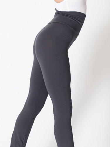American-Apparel-Cotton-Spandex-Jersey-Straight-Leg-Yoga-Pant-0-3