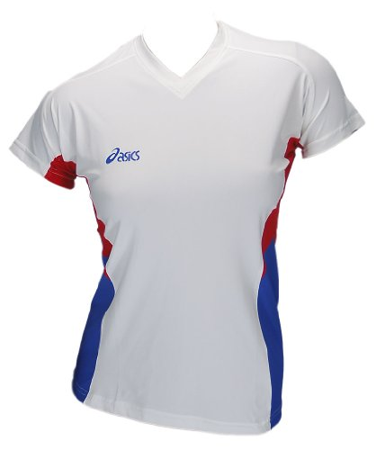 Asics-Indoor-Volleyball-Handball-Teamsport-Sportshirt-Trikot-Offence-Slee-Top-Damen-0000-Art-648203-0
