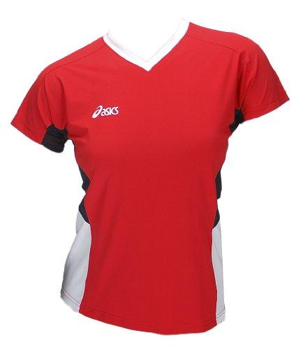 Asics-Indoor-Volleyball-Handball-Teamsport-Sportshirt-Trikot-Offence-Slee-Top-Damen-0600-Art-648203-0