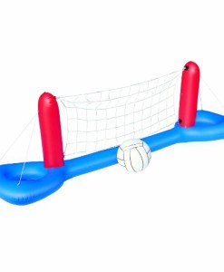 Aufblasbares-Pool-Wasserball-Volleyball-Set-Netz-Ball-0