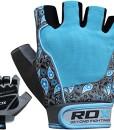 Authentisch-RDX-Amara-Leder-Training-Griffe-Handschuhe-Gewichtheber-Sporthandschuhe-Fitnesshandschuhe-Damen-S6U-0