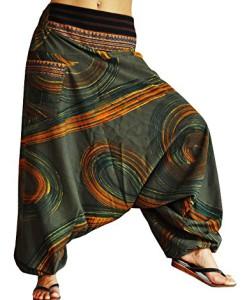BONZAAI-Haremshose-Sommerhose-Harem-Pant-Aladinhose-Pumphose-Pluderhose-GOA-Hose-yoga-alternative-Bekleidung-Luftschloss-0