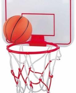 Basketball-Minikorb-rot-weiss-0