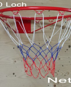 Basketballkorb-Basketball-Korb-NETZ-Ersatznetz-Ballnetz-10-Loch-wei-blau-rot-LHS-0