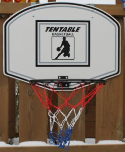 Basketballkorb-klappbar-Basketball-Korb-Ring-Netz-mit-Back-Board-Indoor-Outdoor-Backboard-60x45cm-Ring-355cm-0