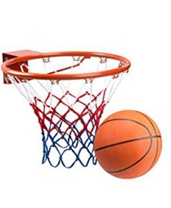 Basketballring-Set-18676-Basketballkorb-mit-Ball-0