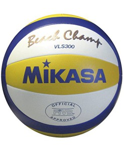 Beach-Volleyball-MIKASA-BEACH-CHAMP-VLS-300-Gre-5-0