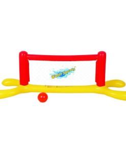 Blueborn-Water-Volleyball-Set-aufblasbares-Volleyballnetz-plus-Ball-fr-Nutzung-im-Wasser-0