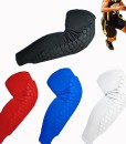 COOLOMG-Elastisch-Honeycomb-Pad-Anti-rutsch-Basketball-Lange-Bein-Kompressionsbandage-Knieschoner-0