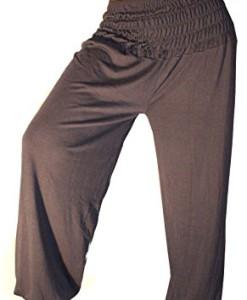 Damen-Pumphose-Haremshose-Yoga-Pant-Stretch-Pump-Sport-Aladin-Hose-0