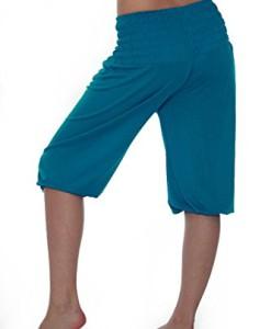Damen-Yoga-Pant-kurze-Hose-11-Farben-Pluderhose-Shorts-Pumphose-Einheitsgre-S-XXL-0