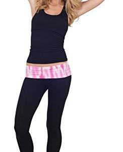 Dnne-bequeme-Damen-Yoga-Hose-Baumwollmischung-umgeschlagener-Bund-Batik-Stil-0