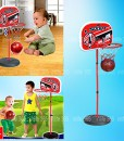 Generic-Basketballkorb-inkl-Brett-und-bis-160-cm-hhenverstellbarem-Stnder-0