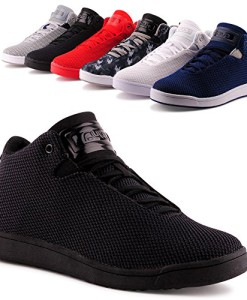 Herren-High-Top-Sneaker-Basketball-Sport-Freizeit-Schuhe-0