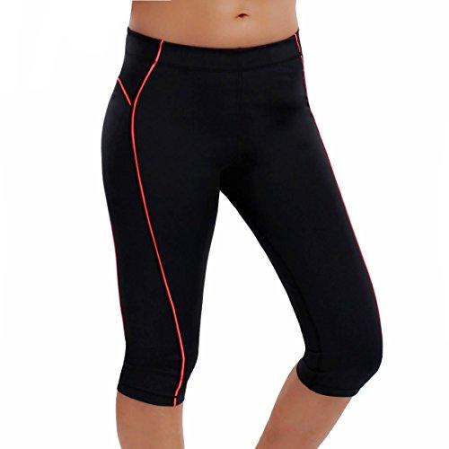 La-Isla-Damen-Hosen-Leggings-Sport-Strumpfhose-Capri-Pants-Yoga-Jogging-Laufhose-0