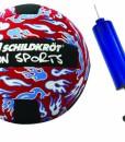 MTS-970077-Neopren-Beachball-23-cm-rot-mit-Ballpumpe-0