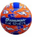 Schildkrt-Funsports-Neopren-Mini-Beachvolley-orange-blau-wei-15-cm-Gr-2-0