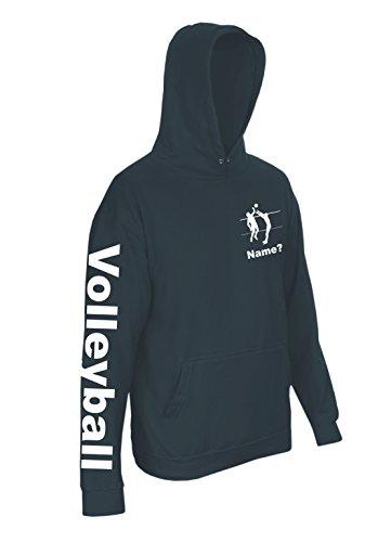 Spirit-of-Isis-Volleyball-A271-Kapuzensweatshirt-mit-whlbarem-Namen-0