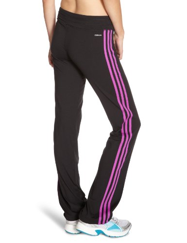 adidas Herren Essentials 3 Stripe Climalite Trainingshose Schwarz
