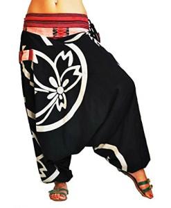 bonzaai-Haremshose-Sommerhose-Harem-Pant-Aladinhose-Pumphose-Pluderhose-GOA-Hose-yoga-alternative-Bekleidung-Besonders-0