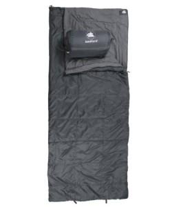 10T-Bedford-Einzel-Decken-Schlafsack-210x90cm-grau-Schachbrett-Steppung-bis-16C-0