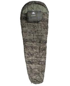 10T-Forester-Einzel-Mumien-Schlafsack-230x85cm-Polycotton-Tarnfleck-Dessin-bis-23C-0