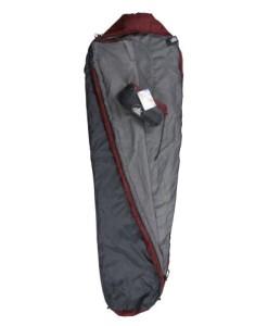 10T-Hatfield-1200-Einzel-Mumien-Schlafsack-225x80cm-Kompakt-Packma-35x19cm-bei-1200g-bis-6C-0