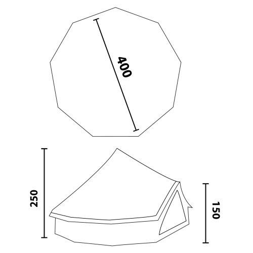 10T-Mojave-400-8-Personen-Pyramiden-Rundzelt-mit-Wetterschutz-Eingang-eingenhte-Bodenwanne-WS5000mm-0-0
