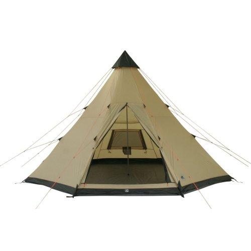 10T-Shoshone-400-8-Personen-Tipi-Pyramiden-Zelt-eingenhte-Bodenwanne-Vordach-Segel-WS5000mm-0-1