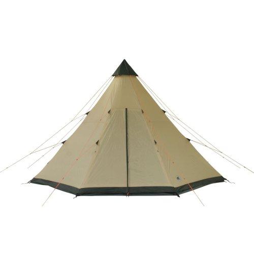 10T-Shoshone-400-8-Personen-Tipi-Pyramiden-Zelt-eingenhte-Bodenwanne-Vordach-Segel-WS5000mm-0-2