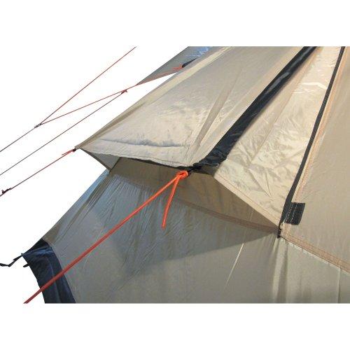 10T-Shoshone-400-8-Personen-Tipi-Pyramiden-Zelt-eingenhte-Bodenwanne-Vordach-Segel-WS5000mm-0-8