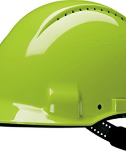 3M-G30DUV-Peltor-Schutzhelm-G3000D-ABS-Helm-Innenausstattung-mit-Leder-Schweiband-und-Pinnlock-Verschluss-belftet-Neongrn-0