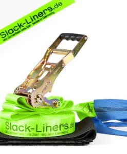 4-Teiliges-Slackline-Set-LEUCHTGRN-50mm-breit-15m-lang-mit-Langhebelratsche-0
