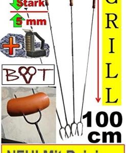 5-x-GRILLSPIESS-MIT-REINIGER-BRSTE-RIESEN-LANGE-100-cm-Grillspiee-fr-Picknickset-Picknick-Grill-Campingkocher-Campinggrills-Wrstchenspiesse-Gemse-grillen-Achtung-kein-Teleskop-sondern-feste-stabile-Fo-0