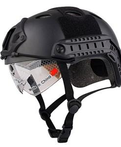 Airsoft-SWAT-Helm-Kampfsport-Jagd-Helme-Skateboard-Helm-Multicam-MC-W-mit-Schutzbrille-fr-Training-Search-Rettungsmanahmen-Klettern-Helme-Scooter-Helme-oder-andere-Outdoor-Sports-Helm-Helme-schwarz-0