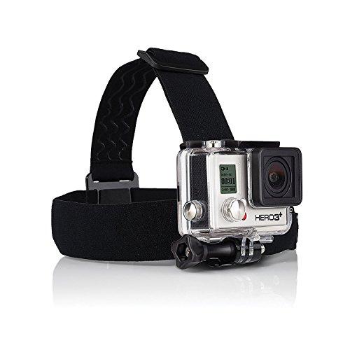 Aodoor-Gopro-Zubehr-5-in-1-Kit-fr-Gopro-HD-Hero4-Hero3-Hero3-Hero2-Held-Kamera-M-Ebene-J-frmigen-Grund-Car-Saugnapf-Halterung-sieben-Zentimeter-in-Chassisdurchmesser-Brustgurt-Kopfband-montieren-Auftr-0-0