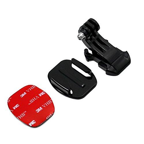 Aodoor-Gopro-Zubehr-5-in-1-Kit-fr-Gopro-HD-Hero4-Hero3-Hero3-Hero2-Held-Kamera-M-Ebene-J-frmigen-Grund-Car-Saugnapf-Halterung-sieben-Zentimeter-in-Chassisdurchmesser-Brustgurt-Kopfband-montieren-Auftr-0-4