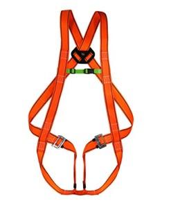 Auffanggurt-Sicherheitsgurt-Klettergurt-Absturzsicherung-Fallschutz-orange-EN-361-0