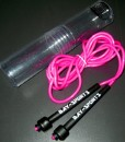 BAY-Sports-PINK-ROSA-Nylon-Neon-Springseil-310-cm-JUMP-Rope-PVC-Kunststoff-Sprungseil-Skipping-Profi-Seil-Jumprope-rosarot-hellrot-0