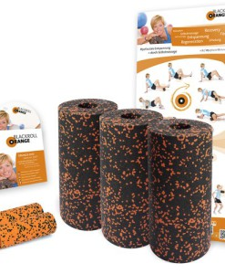 Blackroll-Orange-Das-Original-DIE-Selbstmassagerolle-Pilates-Set-inkl-bungs-DVD-und-bungsposter-0