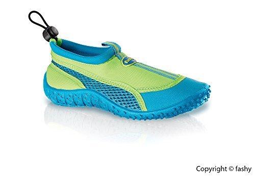 Fashy-Kinder-Aqua-Schuh-Modell-Guamo-7495-60-Farbe-grn-trkis-in-den-Gren-21-35-0
