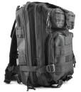 Gleader-30L-Taktik-Militaer-Aussen-Rucksack-Camping-Wandern-Trekking-Tasche-Schwarz-0