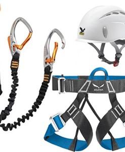 Klettersteigset-Black-Diamond-Easy-Rider-Salewa-Helm-Toxo-Gurt-Ferrata-Lite-0