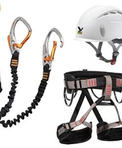 Klettersteigset-Black-Diamond-Easy-Rider-Salewa-Helm-Toxo-Gurt-LACD-Start-0