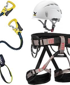 Klettersteigset-Edelrid-CableLite-221-One-Touch-LACD-Gurt-Start-Helm-Salewa-Toxo-0