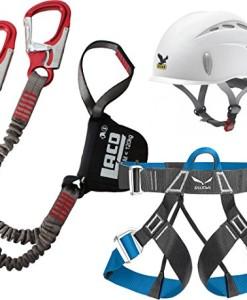 Klettersteigset-LACD-Pro-Evo-Salewa-Helm-Toxo-Gurt-FerrataLite-0