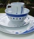Melaminset-16-teile-CUBIC-BLUE-Neu-campinggeschirr-Campingkche-0